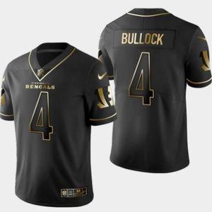 Bengals #4 Randy Bullock Golden Edition Jersey